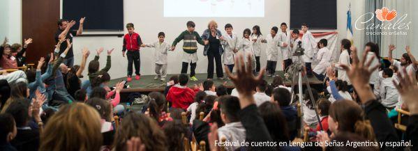 Festival intergeneracional de cuentos en Lengua de Señas Argentina